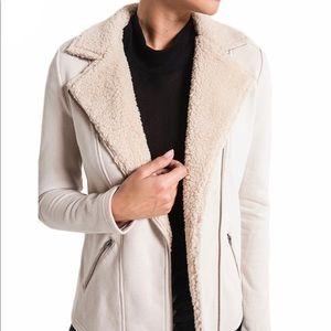 *NWT* Z Supply Sherpa Moto Jacket Size- XS